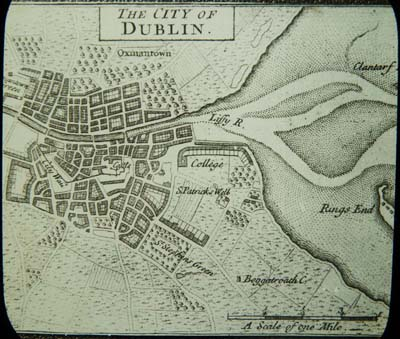 City Map Of Dublin Ireland.Exhibition Dublin A Short History